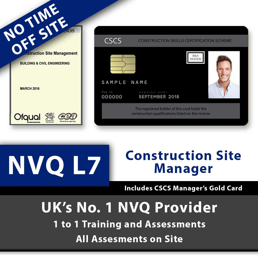Cscs Gold Card >> NVQ Level 7 Construction Senior Management – Includes CSCS ...