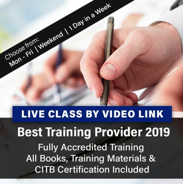 CITB SMSTS Virtual Class Live Video Link